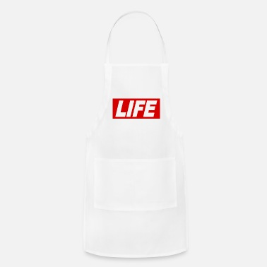 Font LIFE cool Quote Obey Sign gift idea - Adjustable Apron