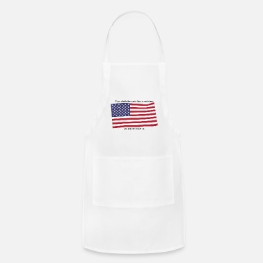 American Flag american flag - Adjustable Apron