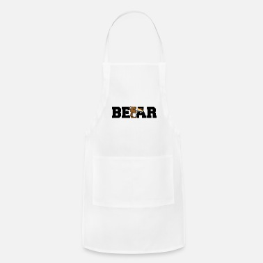 Coming Out Bear LGBT Gay Pride Cartoon CSD Teddy - Apron