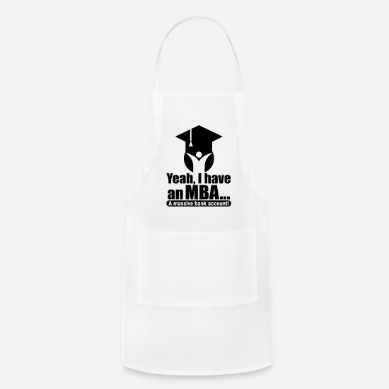 Money Aprons - successful entrepreneur - Apron white