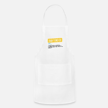 Bartender job drinks bar dating services gift idea - Apron
