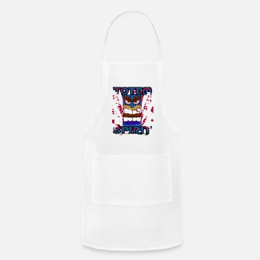 Totem Pole Totem Pole - Totem Spirit - Indian Religion - Apron