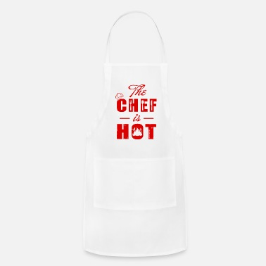 Chef The Chef is hot T-Shirts - Apron