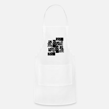 Rectangle Bicycle Rectangles - Adjustable Apron
