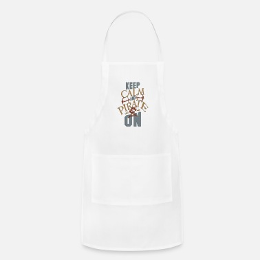 Keep Calm And Pirate On - Apron