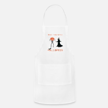 Horor witch thug style horor halloween - Apron