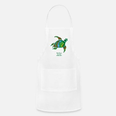 Plastic Keep The Sea Plastic Free Stop Ocean Pollution - Apron