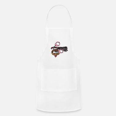 Domina still playing with toys BDSM Sadomaso Domina Sub - Adjustable Apron