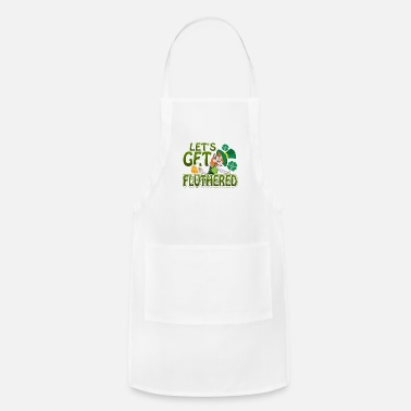 Ireland St Patricks Day Party Shirt Shamrock Beer Gift - Apron
