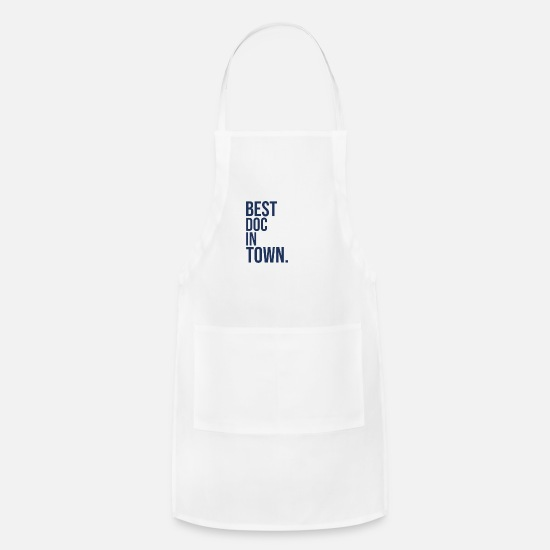Student Aprons - Doctor Student Doctors Medical Doc - Apron white