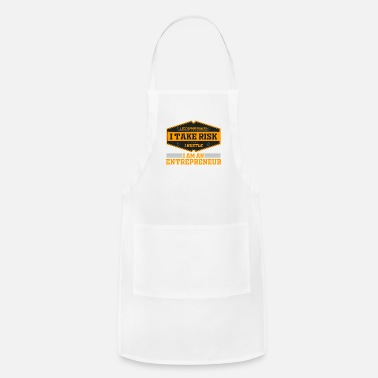 Wealthy Entrepreneur Entrepreneurship Founder Boss Gift - Adjustable Apron
