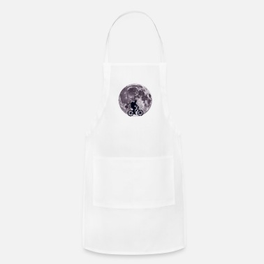 Cycling Moon Biking - Bike, Bicycle, Cycling - D3 Designs - Adjustable Apron