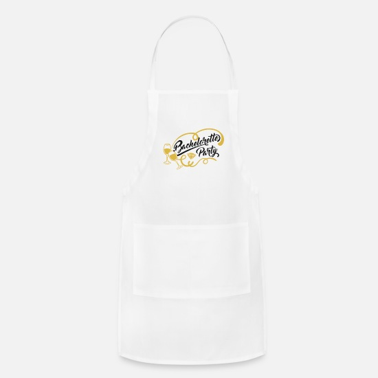 Party Aprons - Junggesellenabschied Bachelorette Party - Apron white