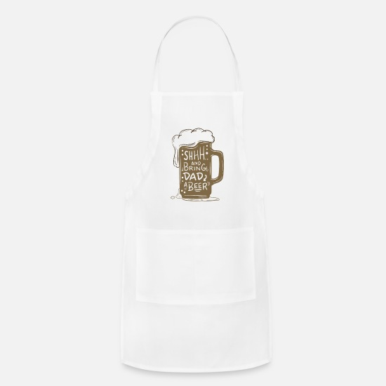 Friends Aprons - Father Dad Family Grandfather Gift Beer Dad - Apron white