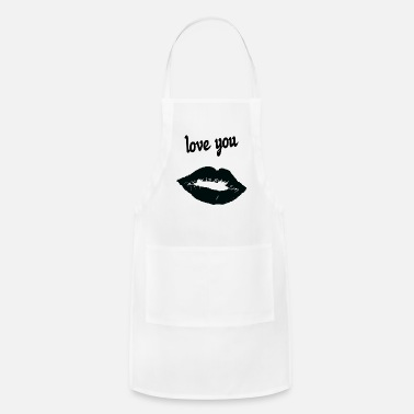 Affection Dedication affection love - Apron