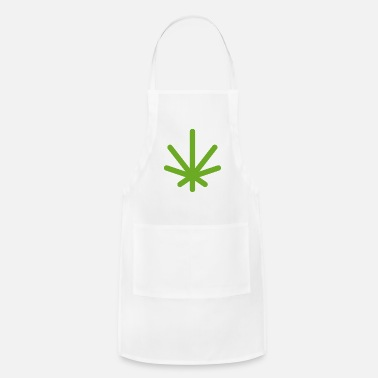 Asterisk Classic Logo (Green) - Adjustable Apron