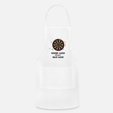 Luck Dart - good luck with your bad luck - Apron