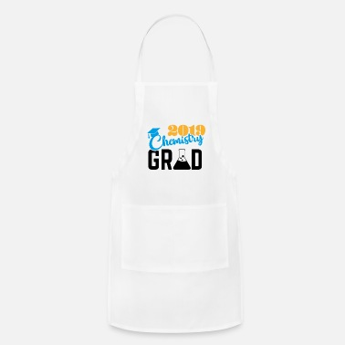 Grad Student Chemistry student grad 2019 quote gift - Apron