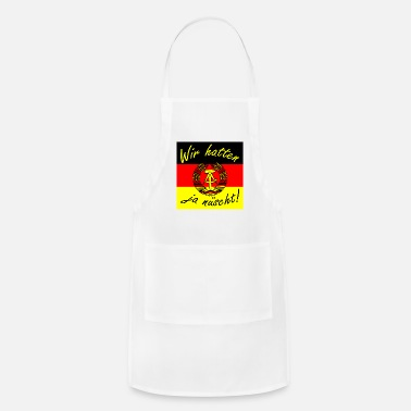Saxony We didn't have enough present Ossi Ostdeutschland - Apron