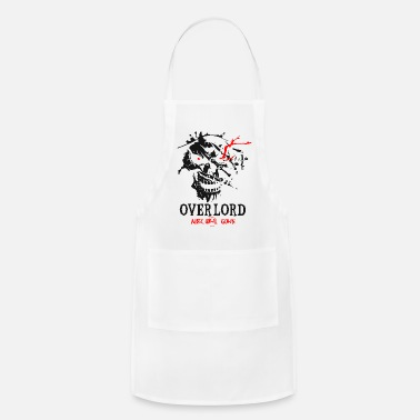 Overlords Graphic Skul Ainz Ooal Gown 1 - Apron