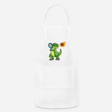 Dino with Tennis racket and Ball at Tennis - Apron