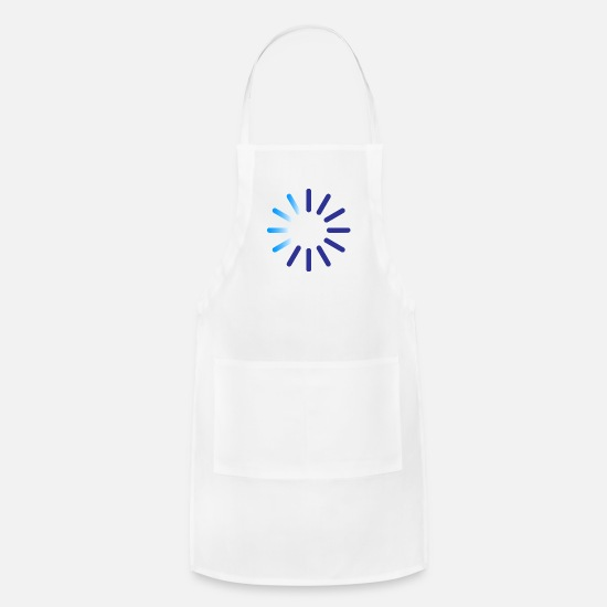Indicator Aprons - Progress Indicator For A Download - Apron white