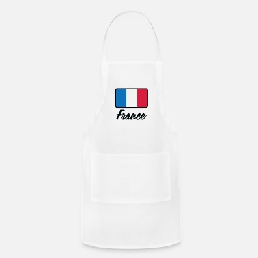 France National Flag Of France - Adjustable Apron