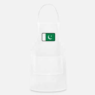 Karachi National Flag Of Pakistan - Adjustable Apron