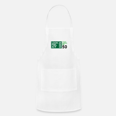 Age I Am 50 Years Old,But My Heart Is Still Young! - Adjustable Apron