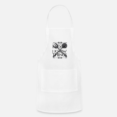 Private Chef I Cook and I Know Things Gift - Apron