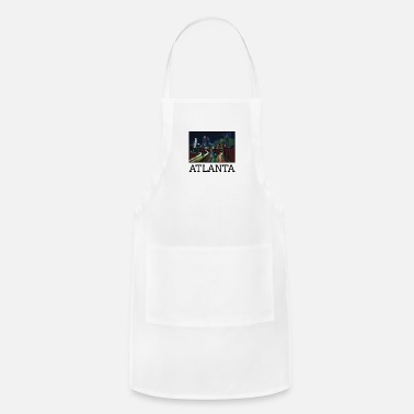 United Atlanta City Skyline USA US - Adjustable Apron