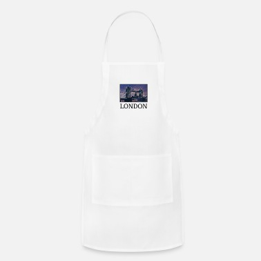 Uk London Holidays Vacation City Souvenir - Adjustable Apron