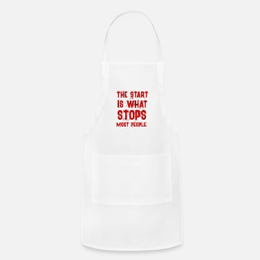 Start THE START IS - Apron