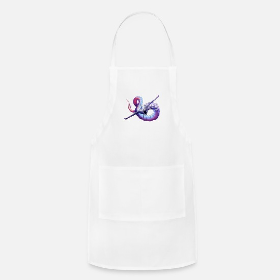 Ghost Leviathan Apron   Spreadshirt