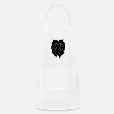 Geometric Lion - Apron
