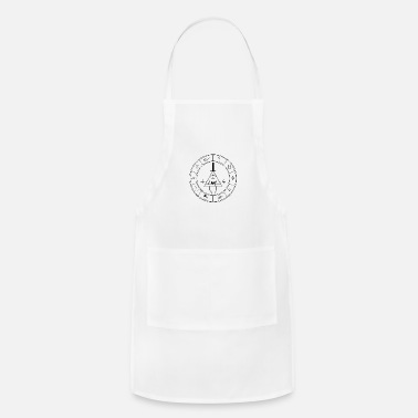 Cipher Bill Cipher logo - Apron