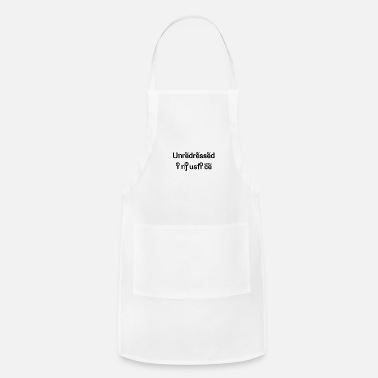 Unredressed Injustice Unredressed injustice - Apron