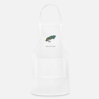 New-orleans new orleans water - Adjustable Apron