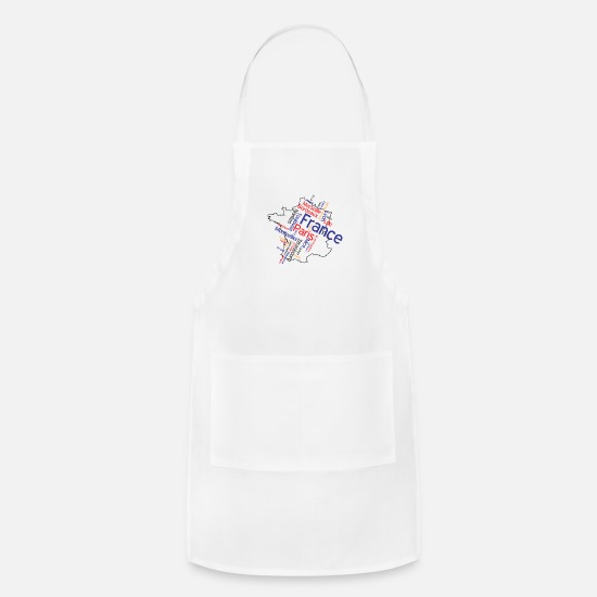 French Aprons - France - Apron white