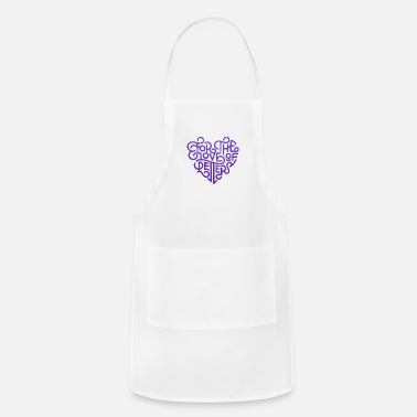 Fantastic For the love of letter text arts of calligraphy - Apron