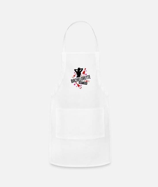 Bachelorette Party Aprons - bachelorette_party_crew_gi3 - Apron white