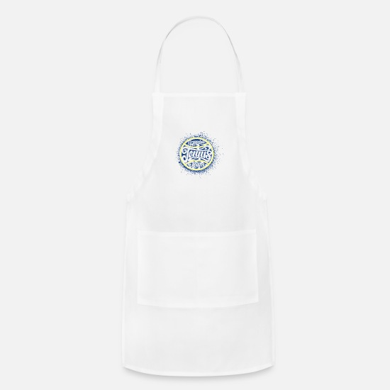 Greendale Aprons - Greendale - Apron white