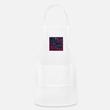 Paint Brush Abstract Paint Mix 14 - Adjustable Apron