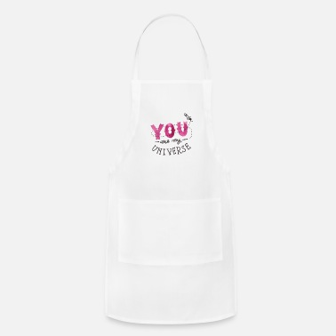 February You are my universe - Apron