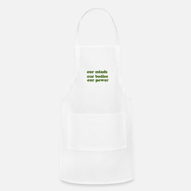 Our Block our minds - Apron