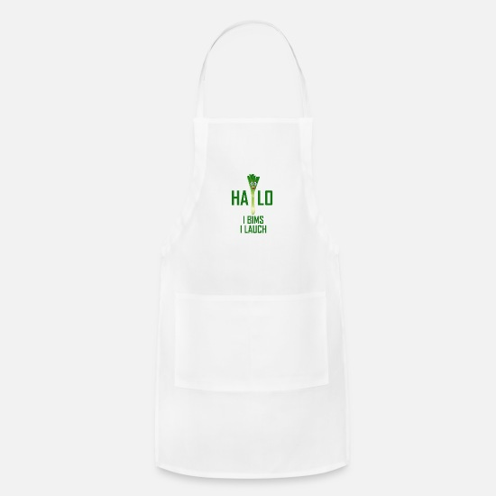 Vegetable Aprons - Vegetables - Apron white