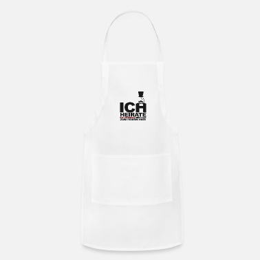 Marriage marriage - Adjustable Apron