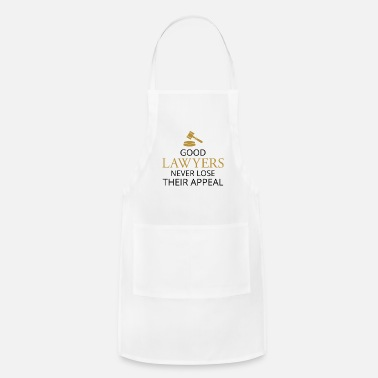 Judge Good Lawyers Never Lose Their Appeal - Candid Awe - Adjustable Apron