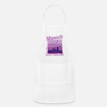 City Break Munich home city gift - Apron