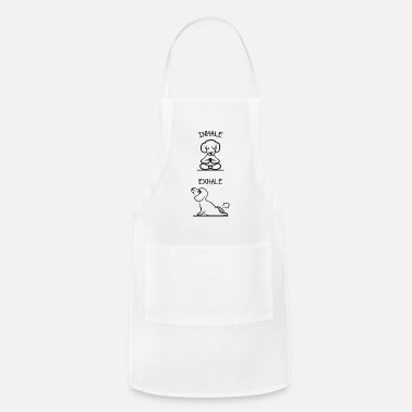 Buddhism Inhale Exhale - Adjustable Apron